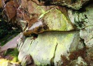 Erlebniswandern, Felsen