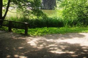 Erlebniswandern, Externsteine, Teich, Gras